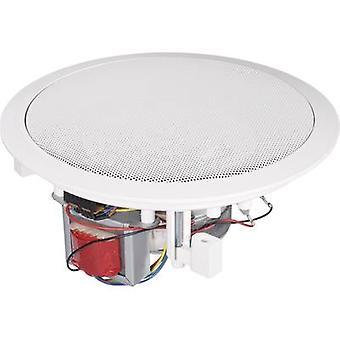 PA versenkt Lautsprecher Renkforce CL-165RT 80 W 100 V White 1 PC