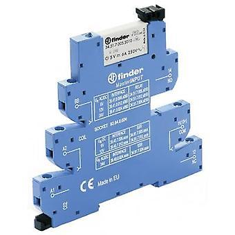 Finder 39.41.0.024.5060 - MasterINPUT Electromechanical Relay Interface Module, EMR, SPDT-CO 250V AC 6A