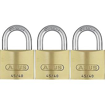 ABUS ABVS11825 Padlock 39 mm 3-piece set Key