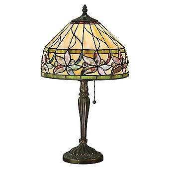 Interiors 1900 Ashtead Single Light Tiffany Style T
