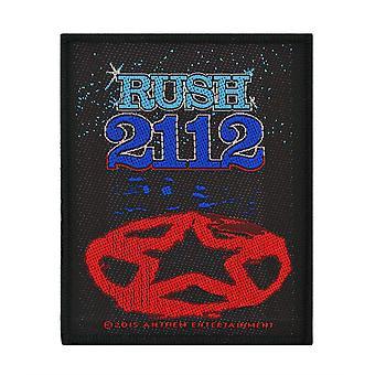 Rush 2112 tessuto Patch