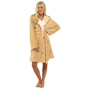 Foxbury Womens Novelty Animal Themed Fleece Dressing Gown