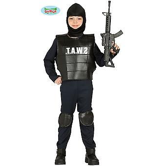 警察 SWAT チーム キッズ コスチューム警察衣装子供衣装