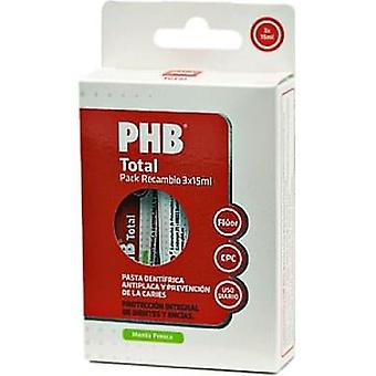 PHB Travel Toothpaste 3 pcs of 15 ml (Hygiene and health , Dental hygiene , Toothpaste)