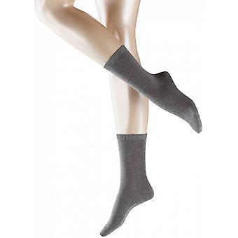 Cosy Falke calze di lana - grigio chiaro