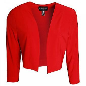 Frank Lyman Long Sleeve Edge To Edge Short Jacket