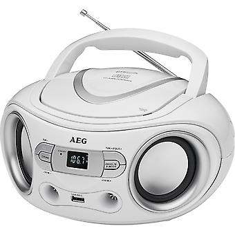 AEG Radio CD/MP3/USB SR 4374 wit