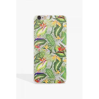 Little Mistress Accessories Green Leaf Print Case Iphone 6