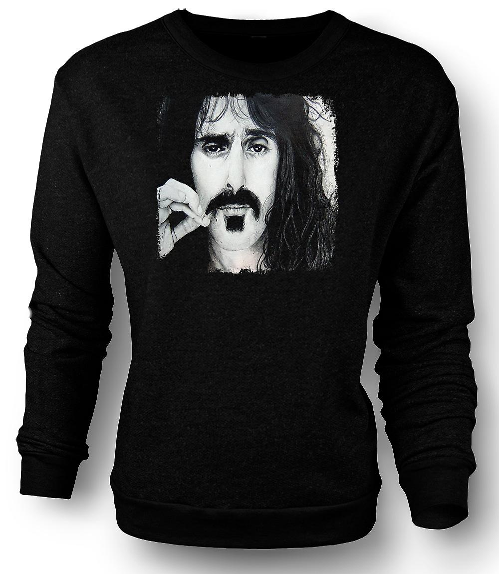 Mens Sweatshirt Frank Zappa - Portrait Sketch
