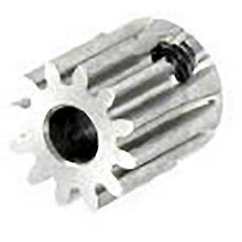 Motor pinion Reely Module Type: 0.6 Bore diameter: 3.2 mm No. of teeth: 12