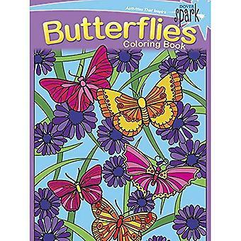 SPARK - Schmetterlinge Malbuch (Dover Spark)