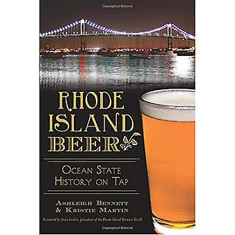 Rhode Island öl:: Ocean statens historia på kran (amerikansk gom)