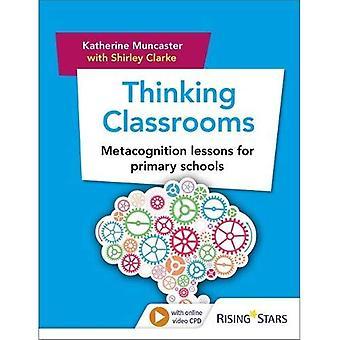 Denken de klaslokalen: Metacognitie lessen voor basisscholen