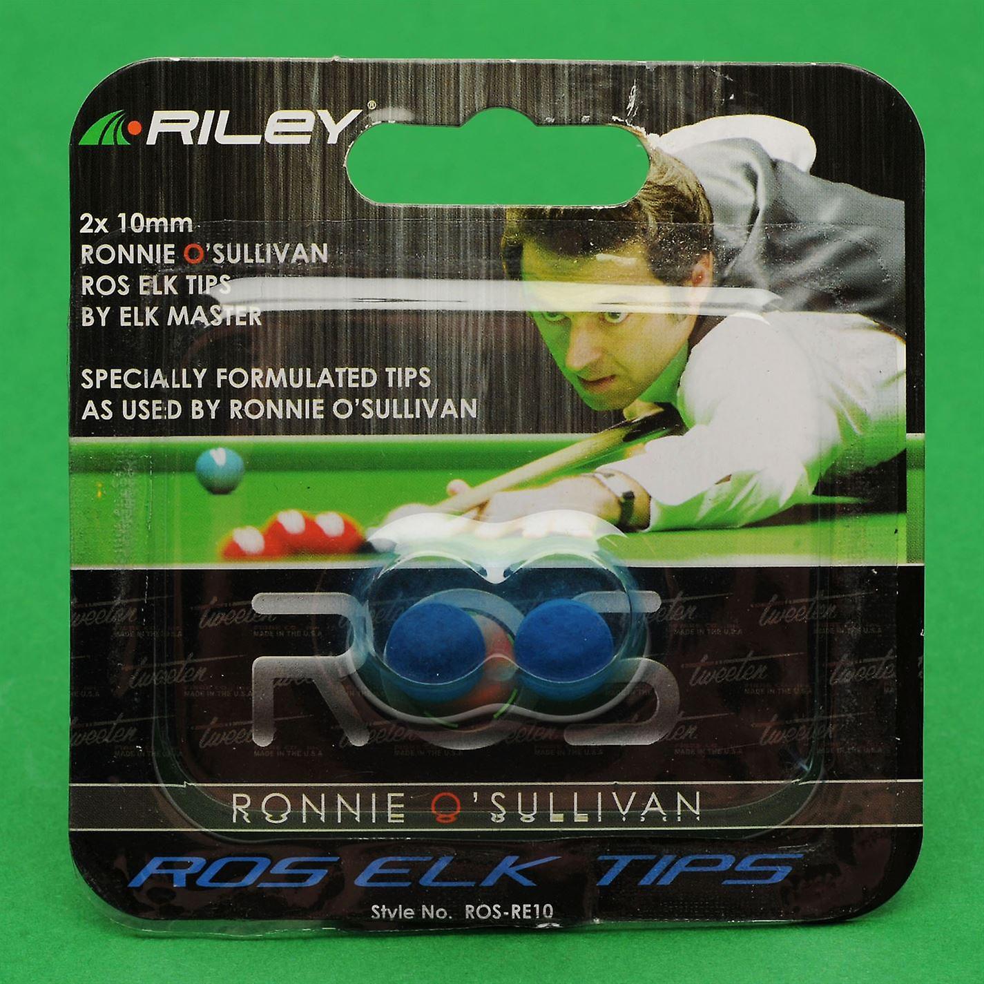 Riley Unisex Ronnie O Sullivan Elk Tips