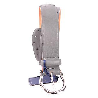Jacob Cohen Grey Leather Belt
