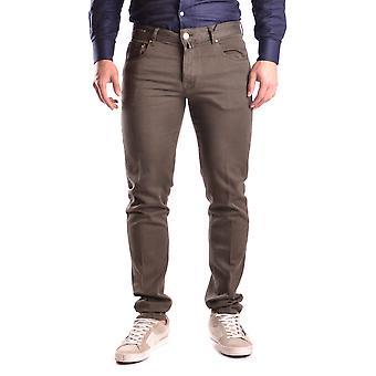Pt05 Green Cotton Jeans