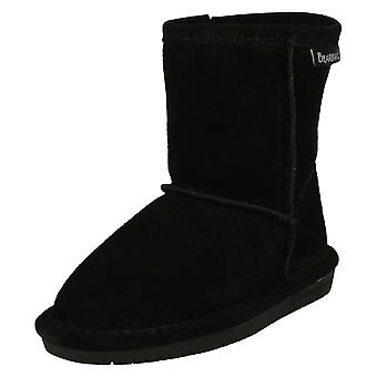 Girls Bearpaw Real Sheepskin Lined Boots Emma Toddler