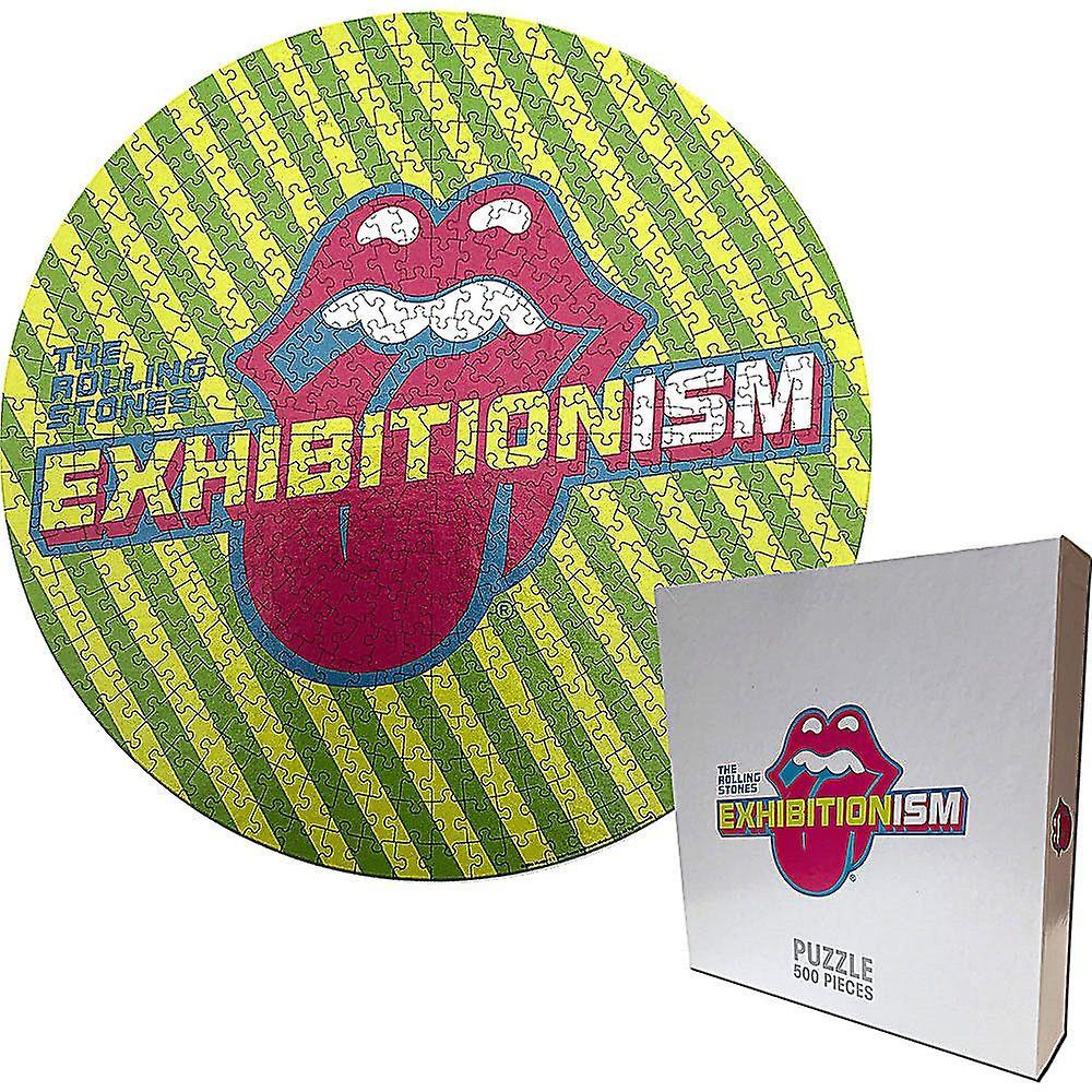 Rolling Stones Exhibitionism runda pussel 500 bit (ro)