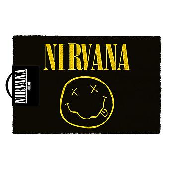 Nirvana smiley logo Wycieraczka