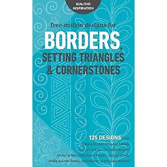 Free-Motion Designs for Borders - Setting Triangles & Cornerstones - 1