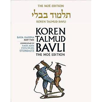 Koren Talmud Bavli - Bava Kamma Part 2 - English - Daf Yomi - Vol. 24 b