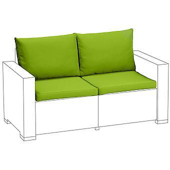 Lime 4pc cuscini sedile set per Keter Allibert California 2 posti divano