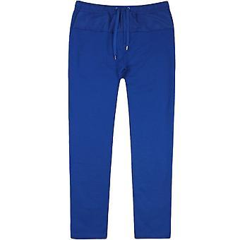 Kenzo nylon patch joggers blå