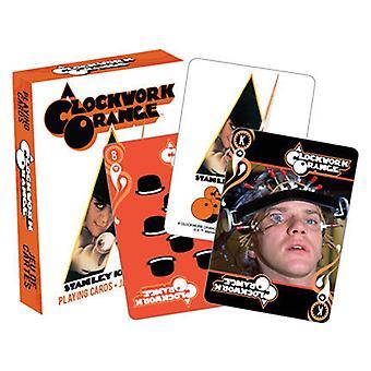 Clockwork pomarańczowy karty do gry