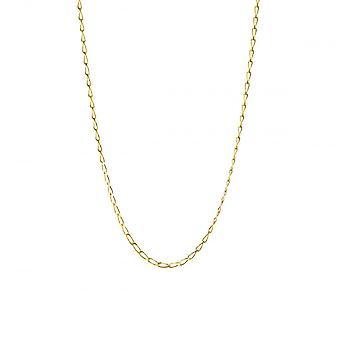 Eternity 9ct Gold 16'' Diamond Cut Rada Curb Chain