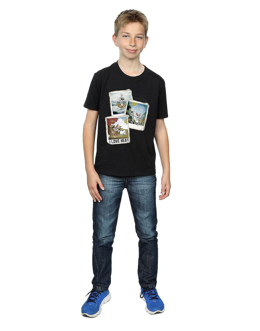 d2b57a2740cee0 Disney Boys Frozen Olaf Polaroid T-Shirt   Fruugo