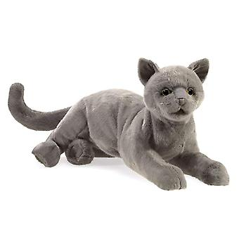 Hand Puppet - Folkmanis - Purring Cat New Toys Soft Doll Plush 3113