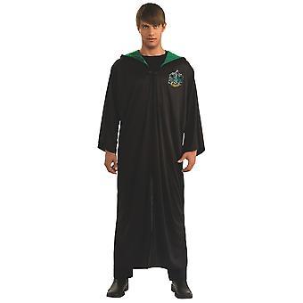 Slytherin Robe Harry Potter Hogwarts Licensed Book Week Adult Mens Costume STD