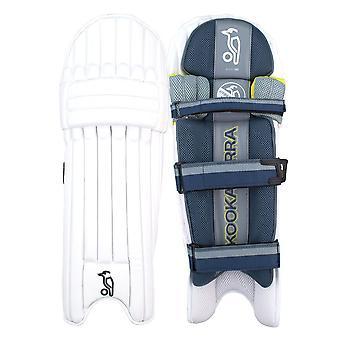 Kookaburra 2019 nickel Pro cricket batting Pads benskydd vit/blå