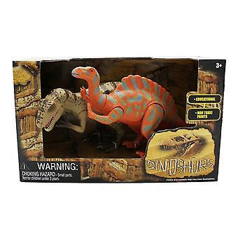Extinct World Dinosaur Duo Boxed Playset, Style C