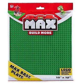 Max Build More - Max Grundplatte Grün