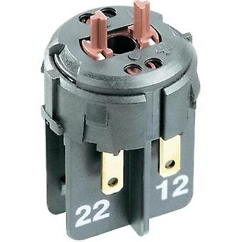 Contact 1 breaker, 1 maker latch 24 Vdc