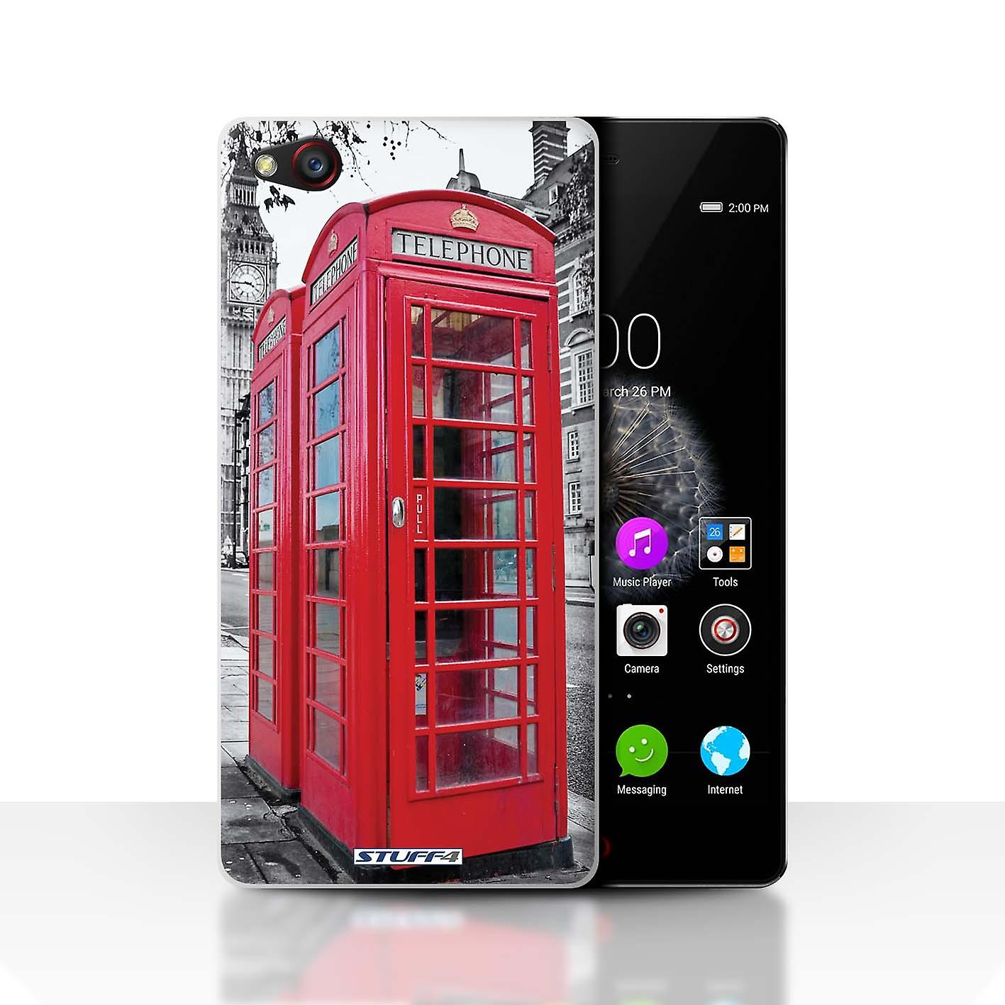 Stuff4 Case Cover For Zte Nubia Z9 Red Phone Box London