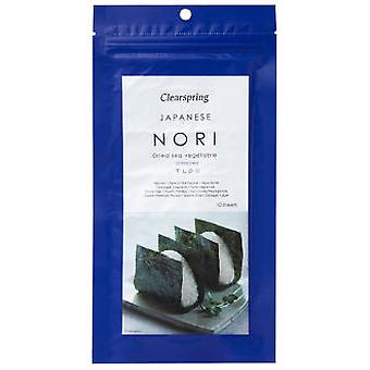 Clearspring Nori Sheets 25 G (Dietetics And Nutrition , Healthy Diet , Bio , Others)