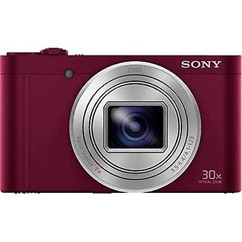 Digital camera Sony DSC-WX500 18.2 MPix Optical zoom: 30 x Red Battery Pivoted display, Full HD Video, Live view, Wi-Fi