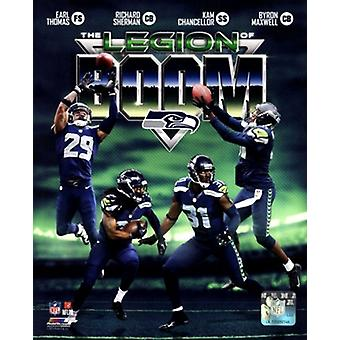 Seattle Seahawks The Legion of Boom Composite Sports Photo