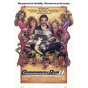 Cannonball Run 2 Movie Poster (11x17)