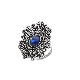 Jewel City Large Sapphire Cocktail Ring (Fashion accesories , Jewelery , Rings)