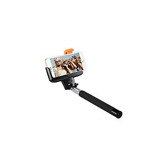 Rolipod Selfie, Selfiestång with built-in shutter, Ios/Android Silv/En