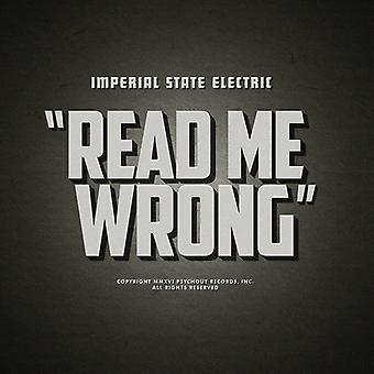 Imperial State Electric - Read Me Wrong [Vinyl] USA import