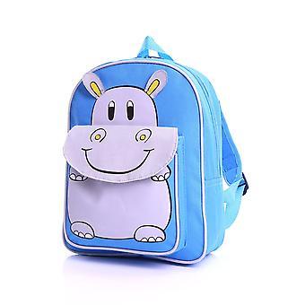 Karabar Kids Hippo rugzak, blauw