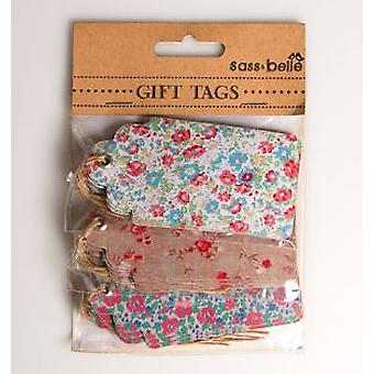 English Tea Garden Assorted Tags - Large
