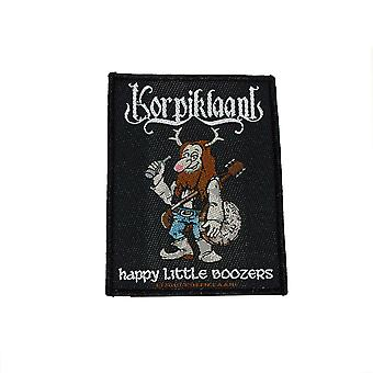 Tessuto Patch di Korpiklaani Happy Little Boozer