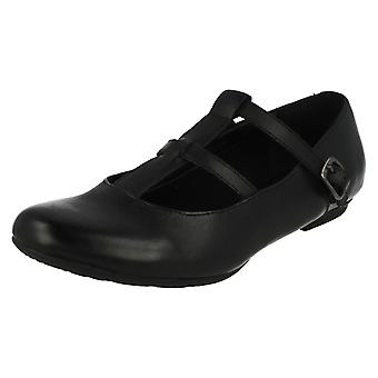 Junior Girls Clarks School/Formal Shoes AbithaWish