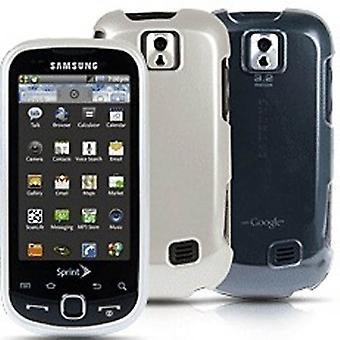 Sprint 2 Pack Of 2 Piece Hardshell Cases For Samsung Intercept (Clear/Pearl)