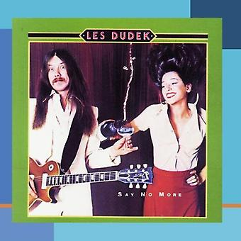Les Dudek - Say No More [CD] USA import